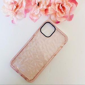 iPhone 11 Pro Max Clear Pink Case